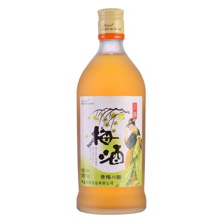 6°玛丽青梅酒519ml