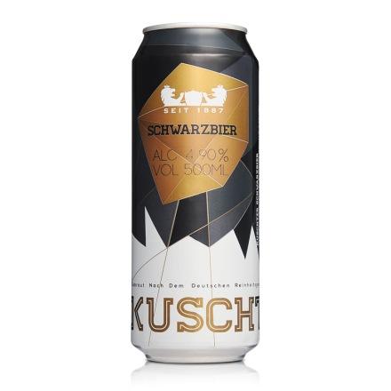 库斯特黑啤酒500m